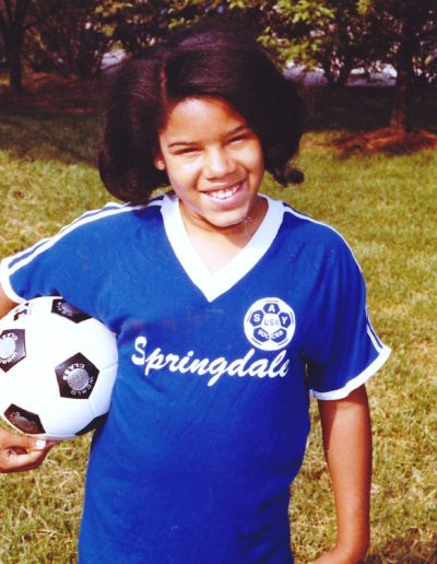 Angela - The Soccer Player
