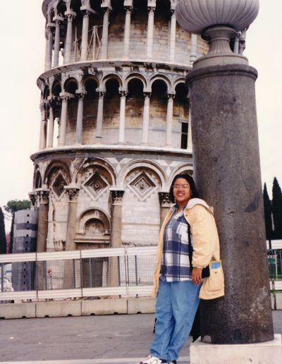 At the Leaning Tower - Pisa