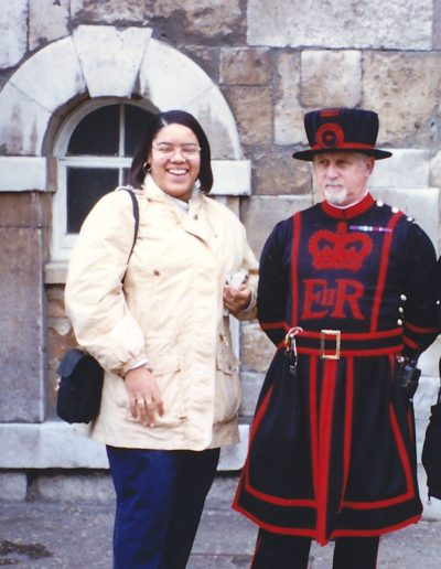 In London with a Beefeater